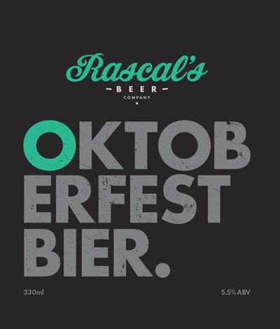 Rascal's Oktoberfestbier label